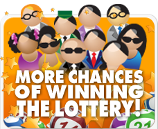 Online lottery syndicate