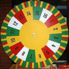 Lottery wheels