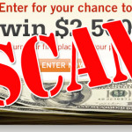 Spot and run away from lottery scammers