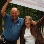 Former lottery winner Paul Bristow honored