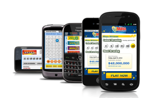 Mobile lottery applications