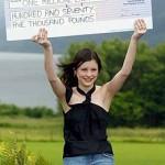 UK National Lottery winner rebuilds her life