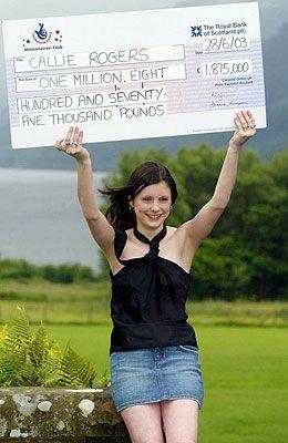 UK National Lottery winner
