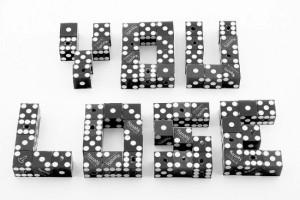 Lottery addict