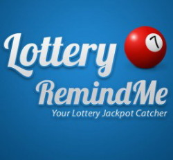 Lottery RemindMe application