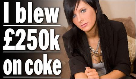 Drug addicted lottery winners