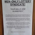 Positive and Negative Aspects of Joining a Lottery Syndicate