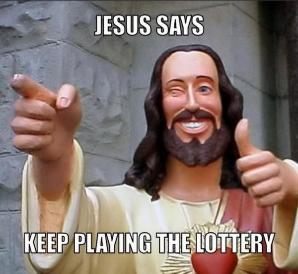Why can't I win the lottery?
