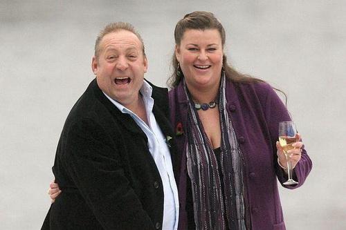 Lottery winners - Les Scadding and Samantha Peachey