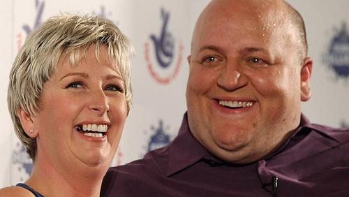 Lottery winners - Adrian and Gillian Bayford