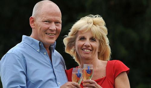 Lottery winners - Dave and Angela Dawes