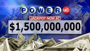 $1.56 Billion Powerball Jackpot