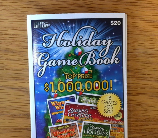 Christmas Lottery Book