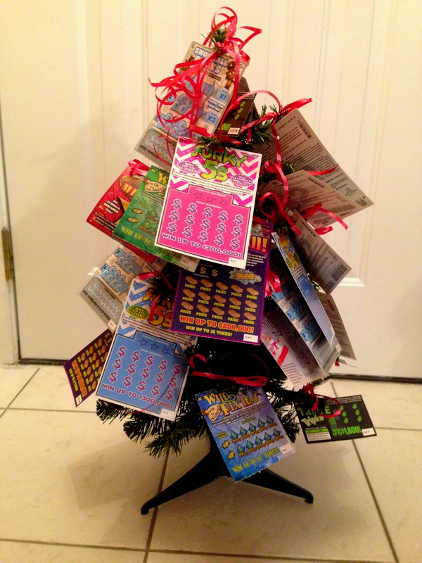 A Scratch Off Christmas Tree