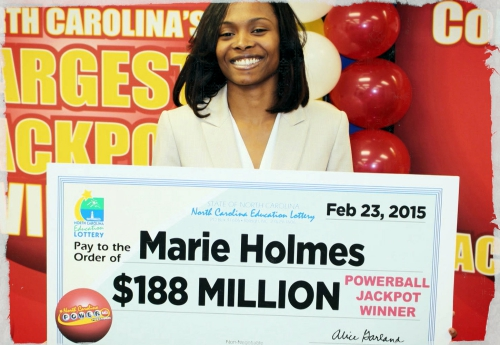 Marie Holmes - The Powerball Winner