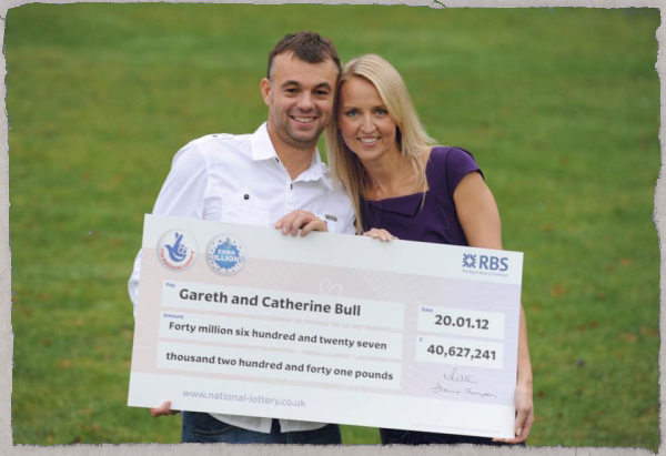 Gareth and Catherine Bull