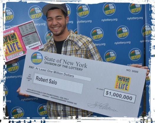 Rob Salo - Lifetime Lottery Winner