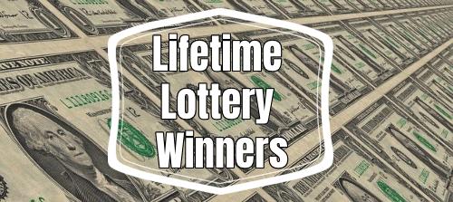 Biggest Lifetime Lottery Winners