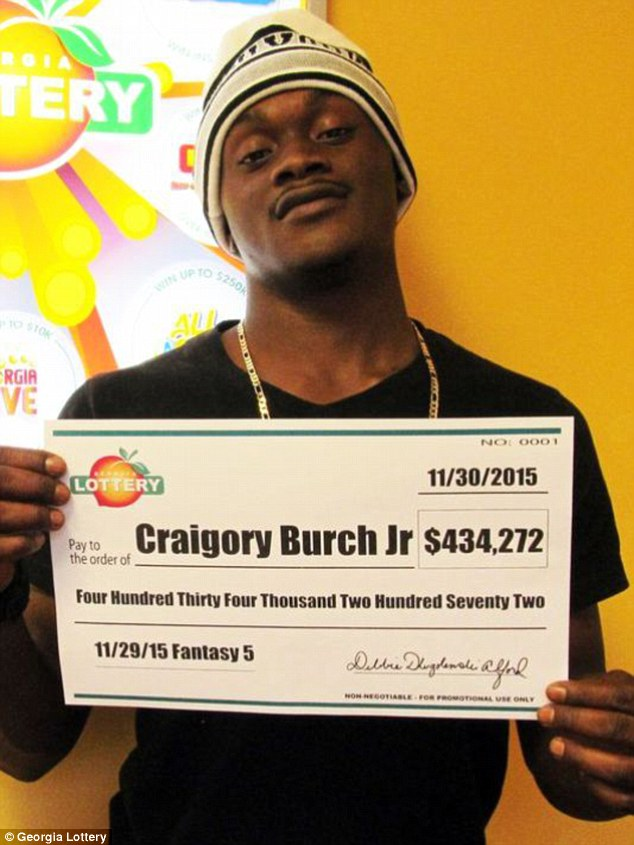 Craigory Burch Jr. from Georgia