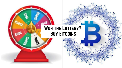 Win the Lottery, Buy Bitcoins – Is That a Smart Idea?